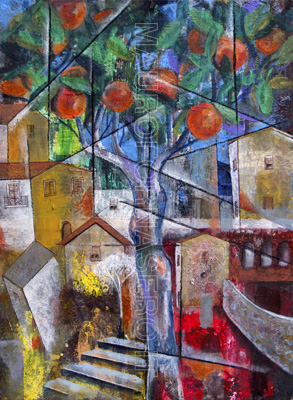 L'albero di arance