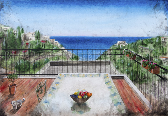 Terrazza a Taormina