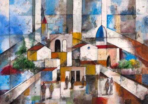 Le Strade Verso Il Borgo