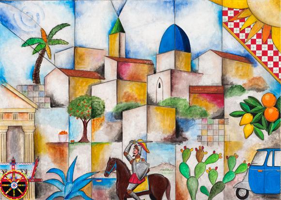 Un paesaggio siciliano