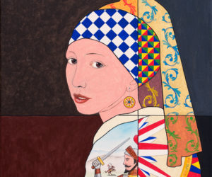 La Ragazza Con L'orecchino Di Sicilia (Omaggio A Vermeer)