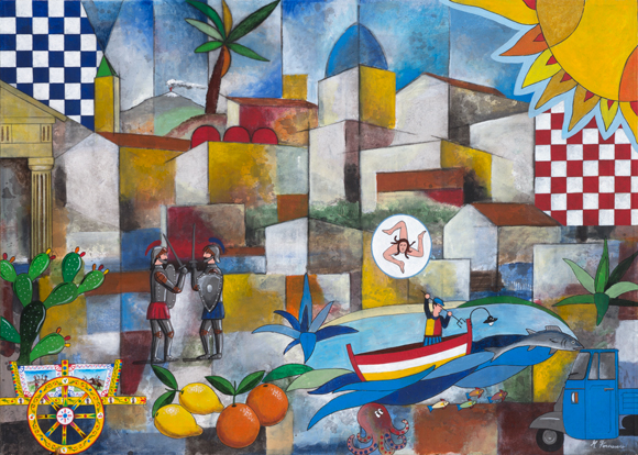 La Sicilia e i suoi colori