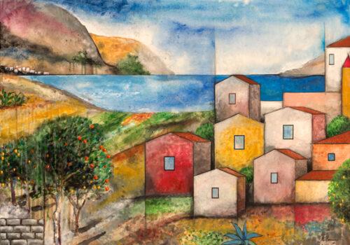 Paesaggio Con Agrumi