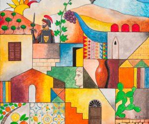 Sicilia Terra Di Sole E Di Colori
